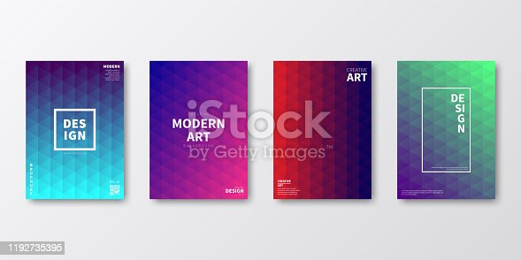 istock Brochure template layout, cover design, business annual report, flyer, magazine 1192735395