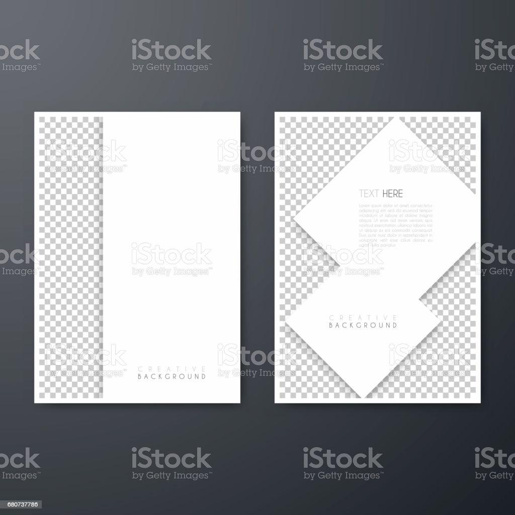 Diseño De Plantilla De Folleto Diseño De La Cubierta Informe Anual ...