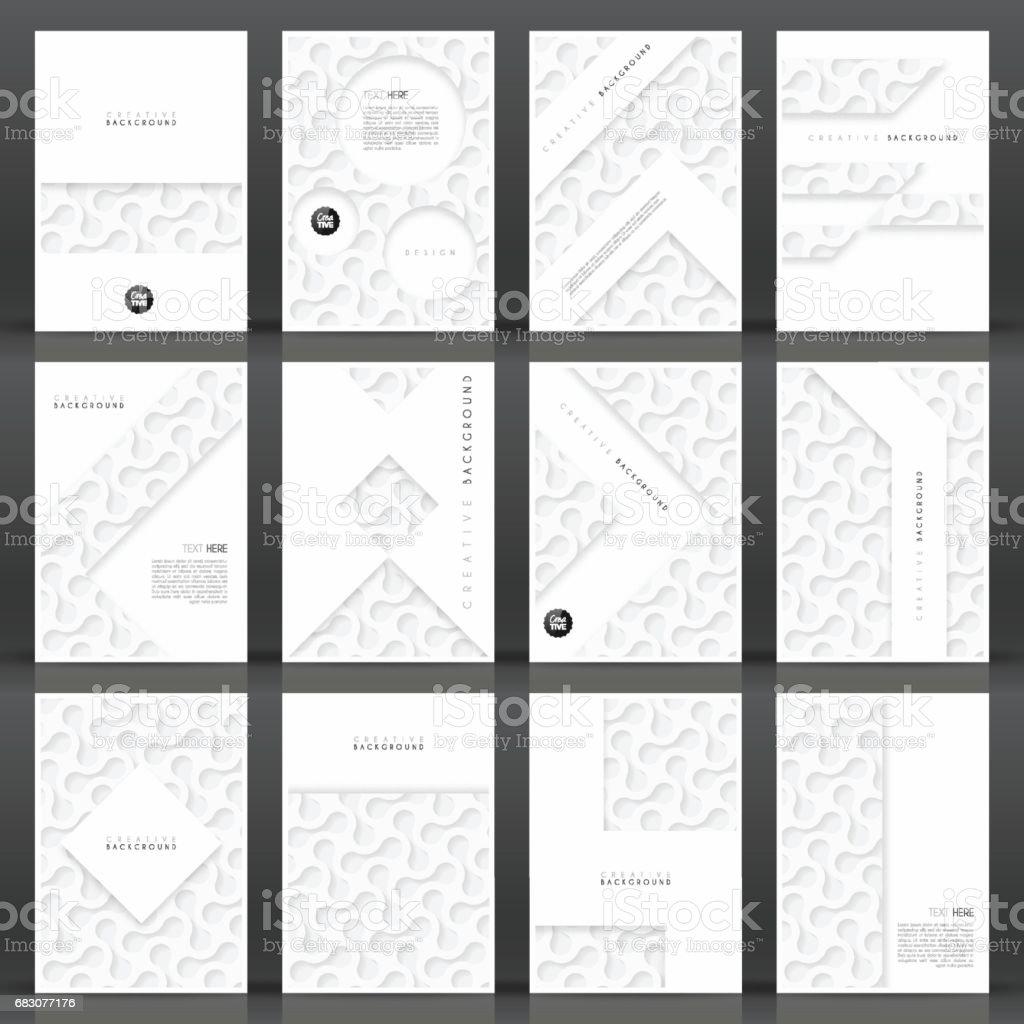 Brochure template layout, cover design, business annual report, flyer, magazine brochure template layout cover design business annual report flyer magazine - arte vetorial de stock e mais imagens de abstrato royalty-free