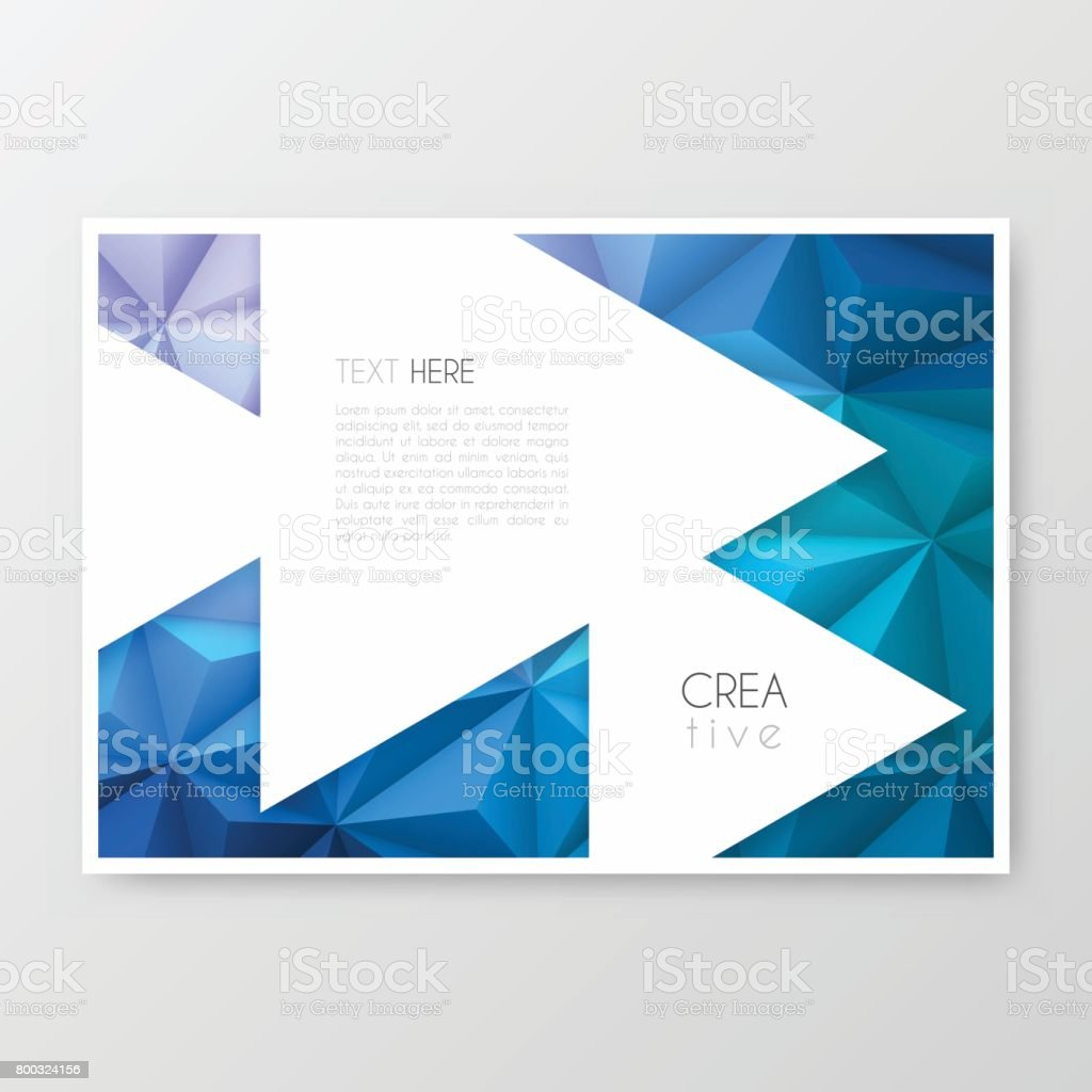 Disposition De Modele De Brochure Conception De La Couverture