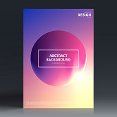 Vertical brochure template with a colorful abstract background. Modern and trendy background with beautiful color gradients (blue, purple, pink, yellow, white). Can be used for different designs, such as brochure, cover design, magazine, business annual report, flyer, leaflet, presentations... Template for your design. With space for your text and your background. The layers are named to facilitate your customization. Vector Illustration (EPS10, well layered and grouped). Easy to edit, manipulate, resize or colorize. Please do not hesitate to contact me if you have any questions, or need to customise the illustration. http://www.istockphoto.com/portfolio/bgblue