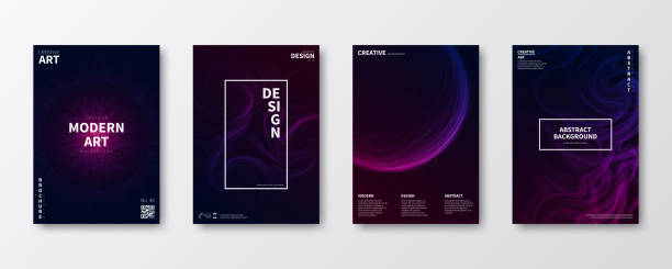 brochure template layout, cover design, business annual report, flyer, magazine - poster stock illustrations