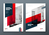 Brochure template layout design. Corporate business annual report, catalog, magazine, flyer mockup. Creative modern bright concept dynamic shape.