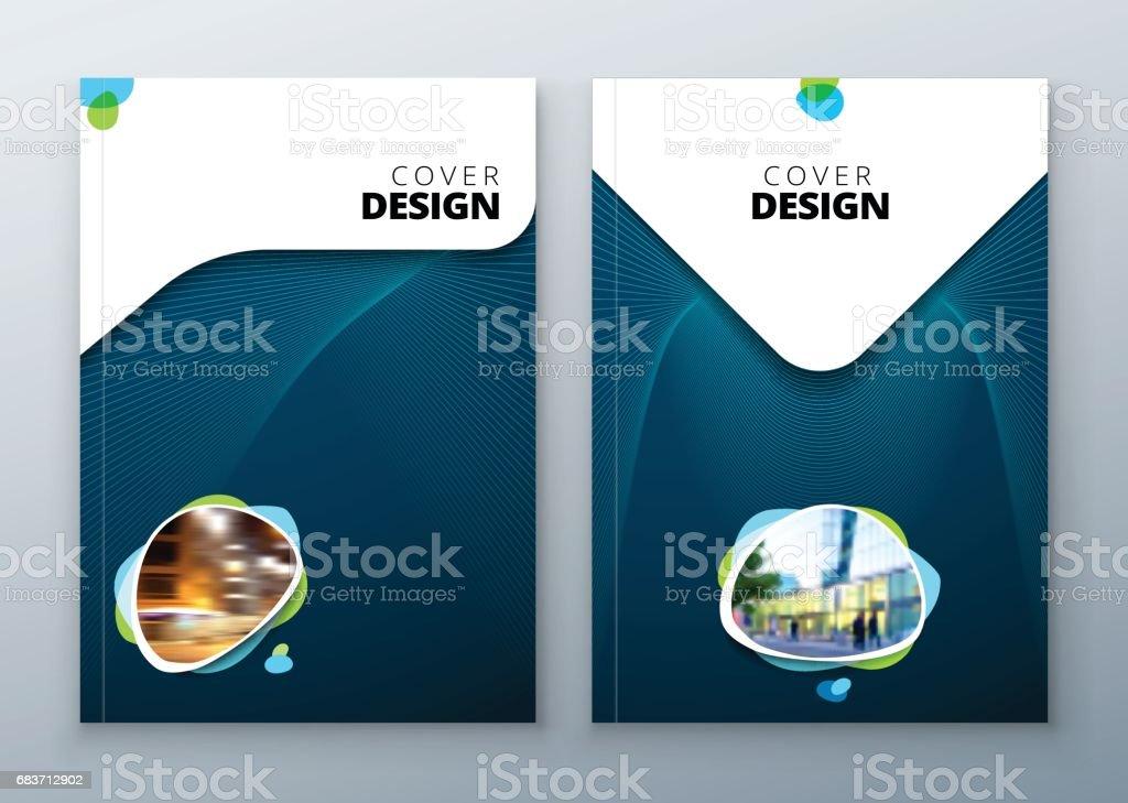 Brochure template layout design. Corporate business annual report, catalog, magazine, flyer mockup. Creative modern bright concept vector art illustration