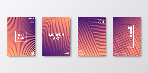 Brochure template layout, Orange cover design, business annual report, flyer, magazine