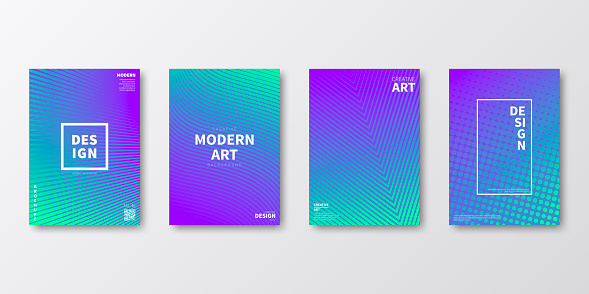 Brochure template layout, Purple cover design, business annual report, flyer, magazine