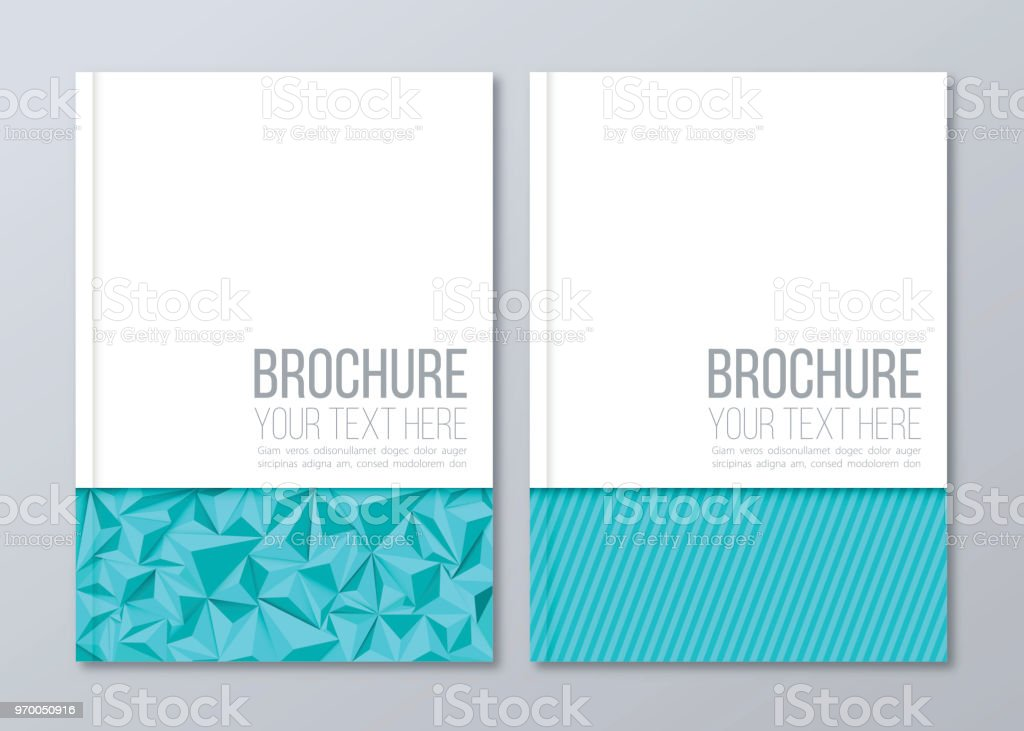 Brochure template vector corporate business stationery design brochure template vector corporate business stationery design geometric flyer backgrounds royalty free accmission Images