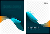 brochure template with provision for image
