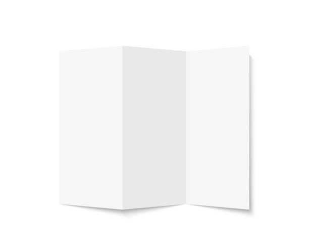 brochure - składany stan stock illustrations