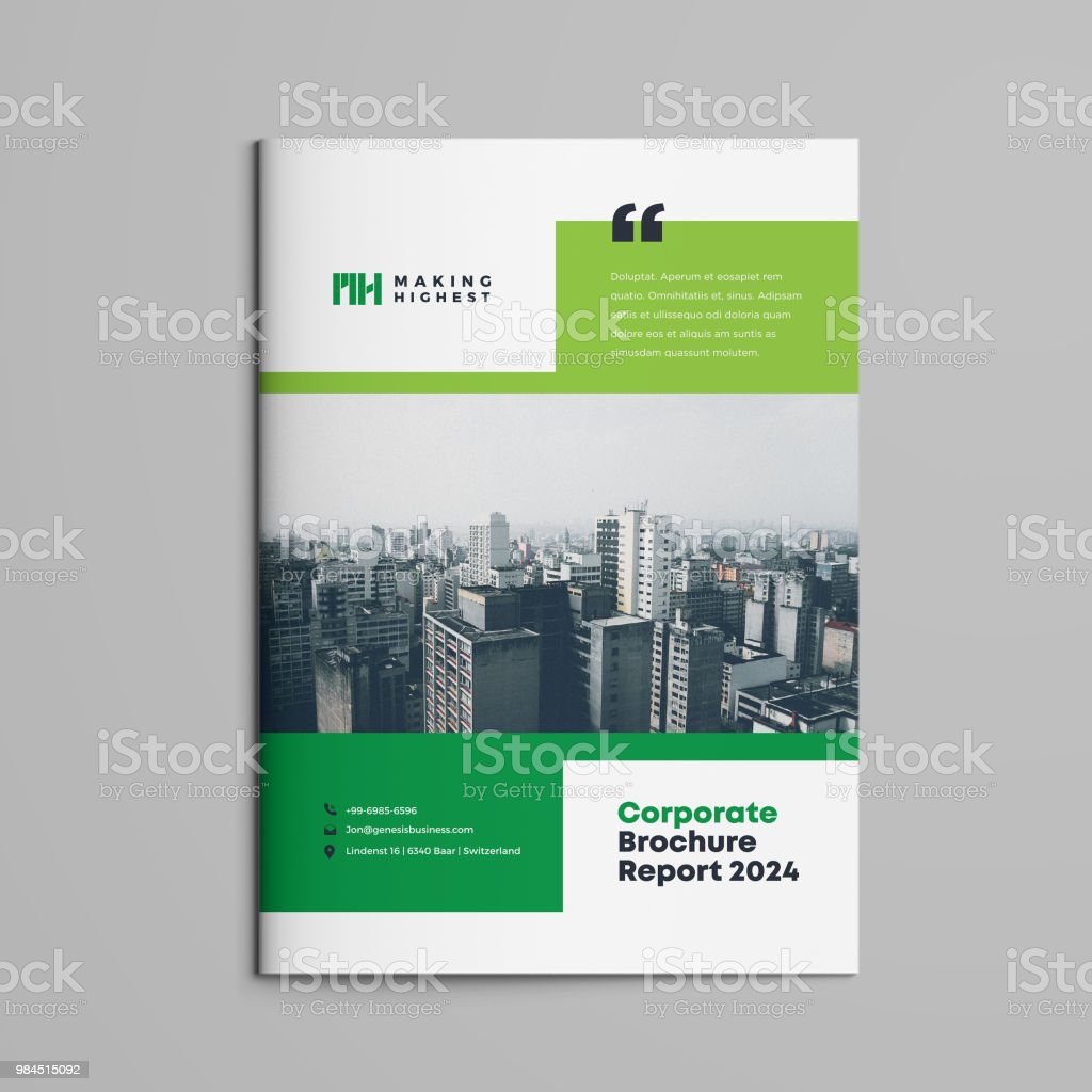 Brochure | White paper | Booklet | Company document | Business Plan|  Annual Report | Sales sheet | Catalog Cover Design royalty-free brochure white paper booklet company document business plan annual report sales sheet catalog cover design stock illustration - download image now