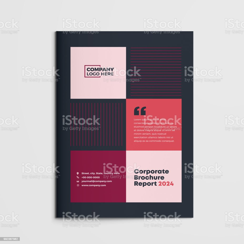brochure white paper booklet company document business