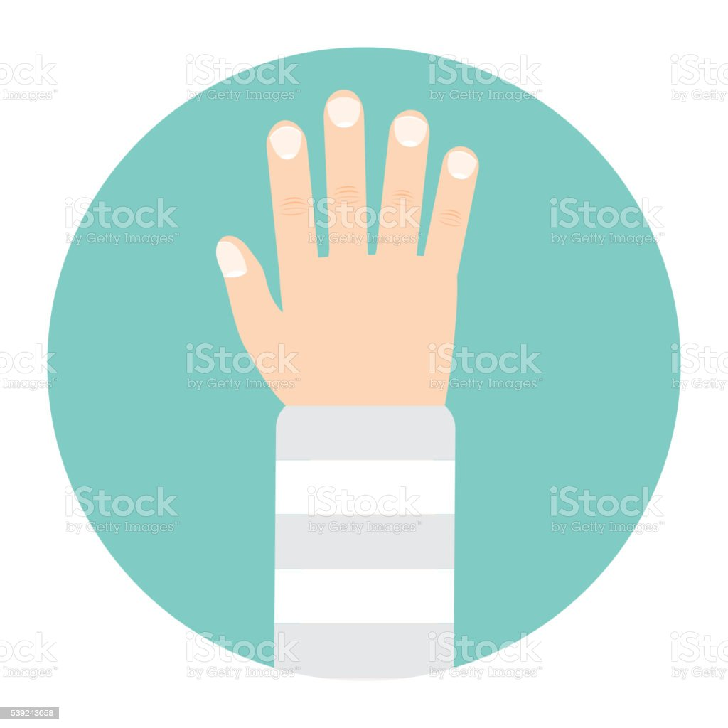 broken arm icon royalty-free broken arm icon stock vector art & more images of adult