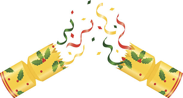 Christmas Cracker Vector.Best Christmas Cracker Illustrations Royalty Free Vector