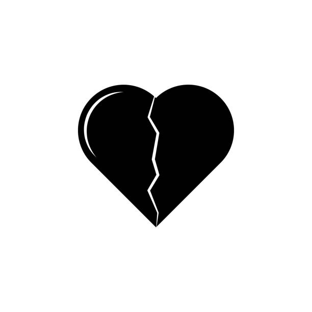 Broken heart icon. Love or couple element icon. Premium quality graphic design. Signs, outline symbols collection icon for websites, web design, mobile app, info graphics Broken heart icon. Love or couple element icon. Premium quality graphic design. Signs, outline symbols collection icon for websites, web design, mobile app, info graphics on white background alimony stock illustrations