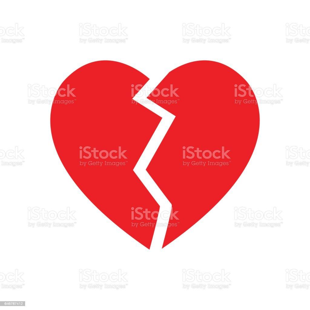 royalty free broken heart clip art vector images illustrations rh istockphoto com love heart clipart images love heart clipart png