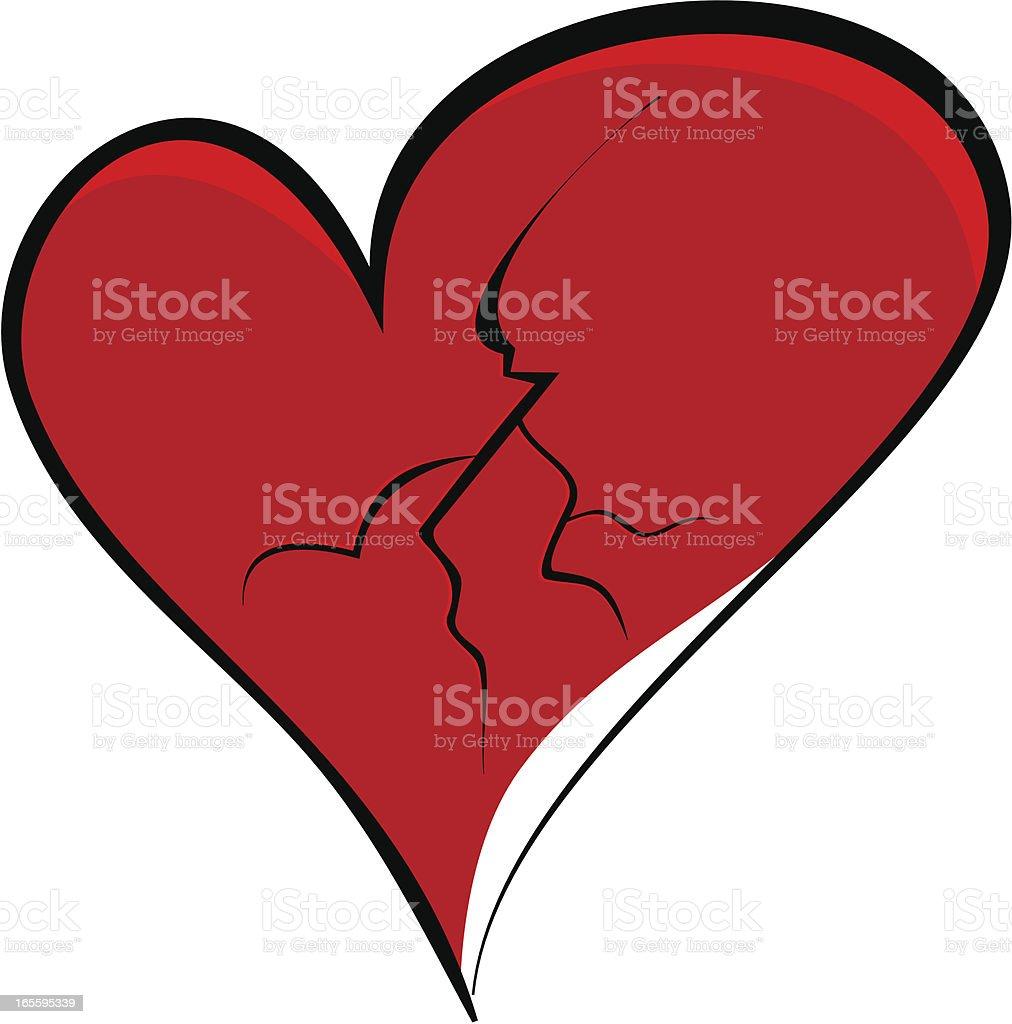 Broken Heart royalty-free broken heart stock vector art & more images of broken