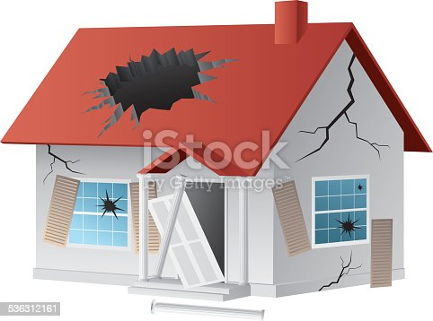 istock Broken house 536312161