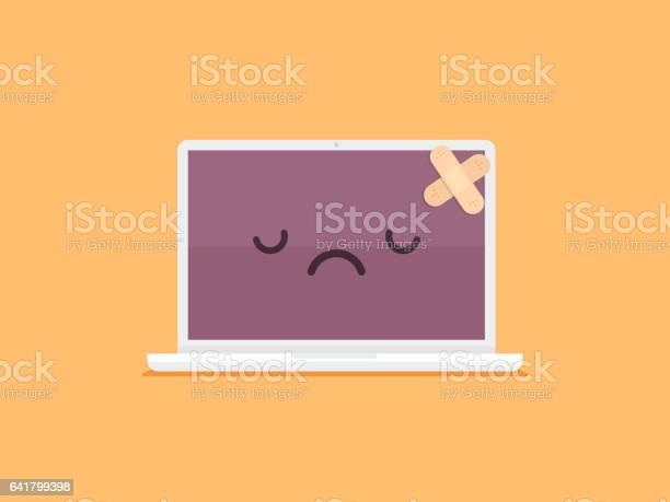 Broken laptop vector id641799398?b=1&k=6&m=641799398&s=612x612&h=qdb94ahi txhprqnulz5g gor33vc60d7ag0c5dgfp4=