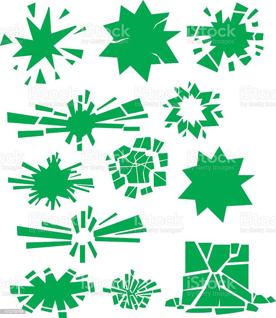 Broken Splats royalty-free broken splats stock vector art & more images of abstract