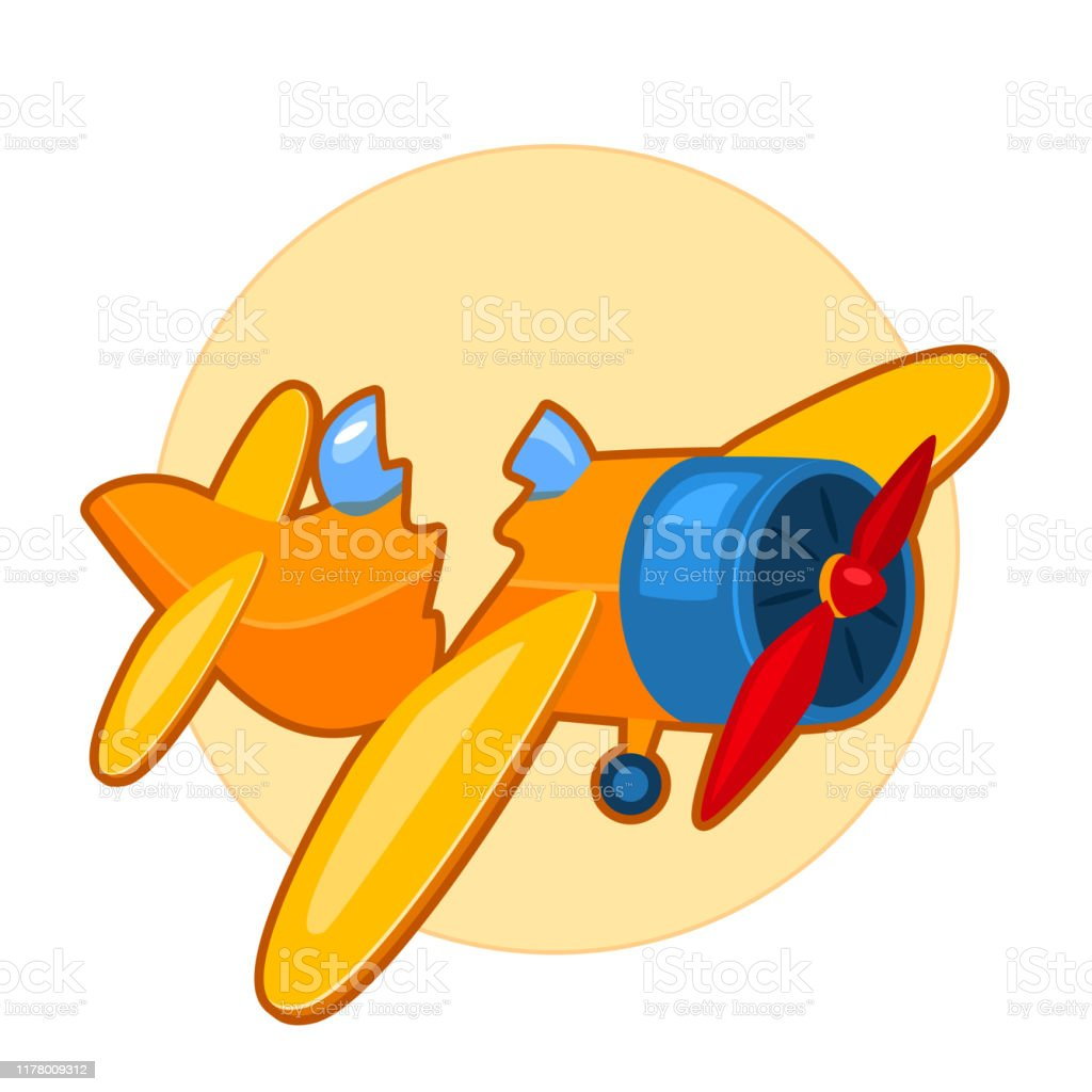 Broken Toy Airplane Stock Illustration Download Image Now Istock