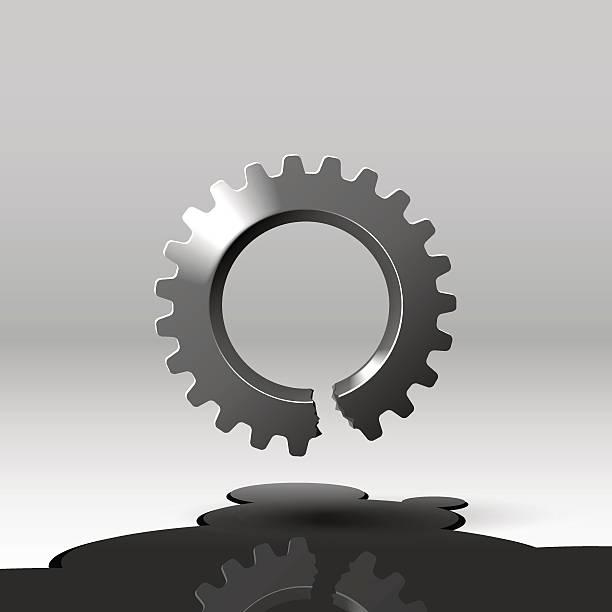 Best Broken Gears Illustrations, Royalty-Free Vector ...