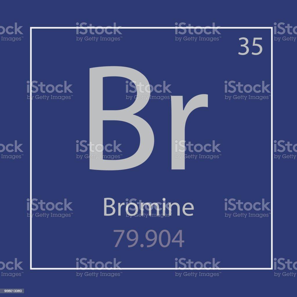 Ilustracin de icono de elemento qumico bromo br y ms banco de icono de elemento qumico bromo br ilustracin de icono de elemento qumico bromo br y ms urtaz Images