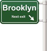 Brooklyn next exit signal vector
