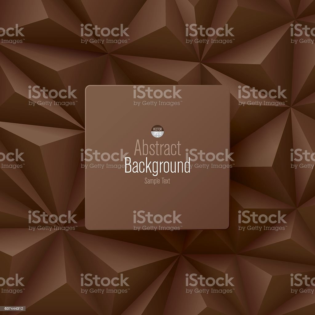 Brown abstract background vector.