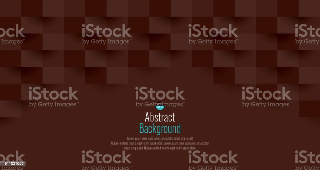 Brown abstract background vector. vector art illustration