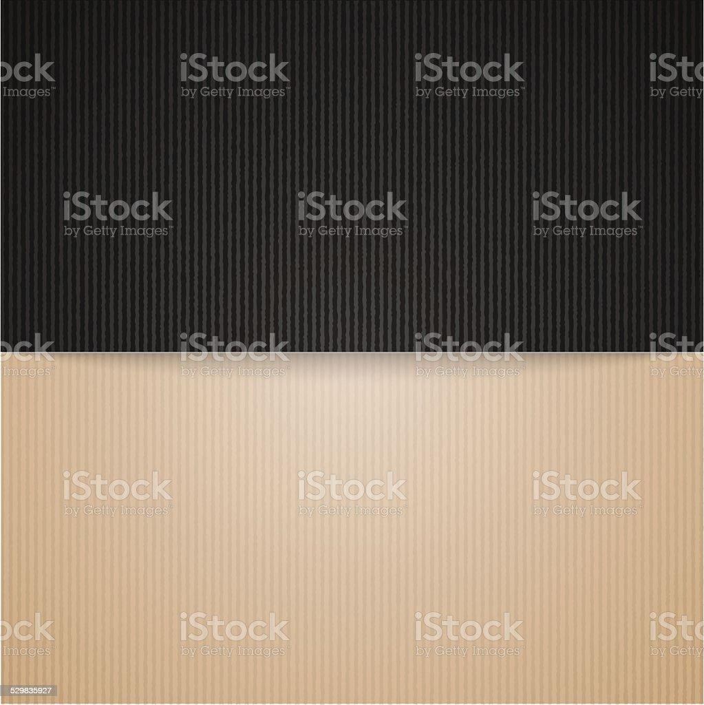 brown and black cardboard vector art illustration