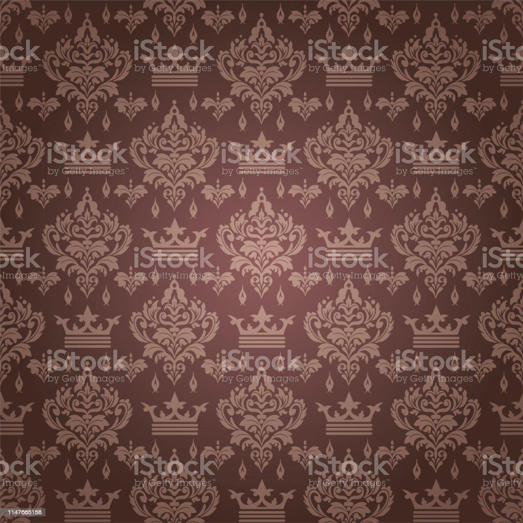 アジアのスタイルで茶色の背景の壁紙 お祝いのベクターアート素材や画像を多数ご用意 Istock