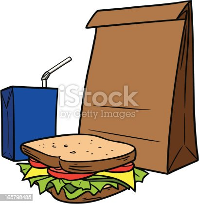 istock Brown Bag Lunch 165798485