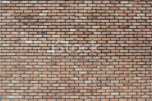Brown Beige Red Brick Wall Grunge Textured Backdrop Background Illustration