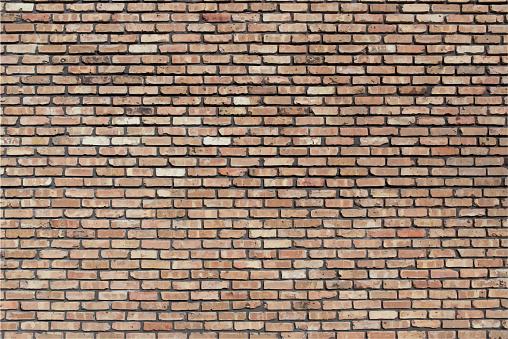 Brown Beige Red Brick Wall Grunge Textured Backdrop Background Illustration