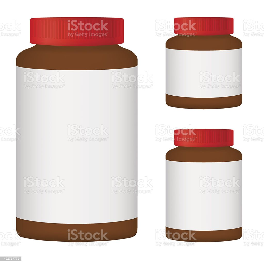 Brown Blank Bottle Set For Packaging Design royalty-free brown blank bottle set for packaging design stock vector art & more images of beauty treatment