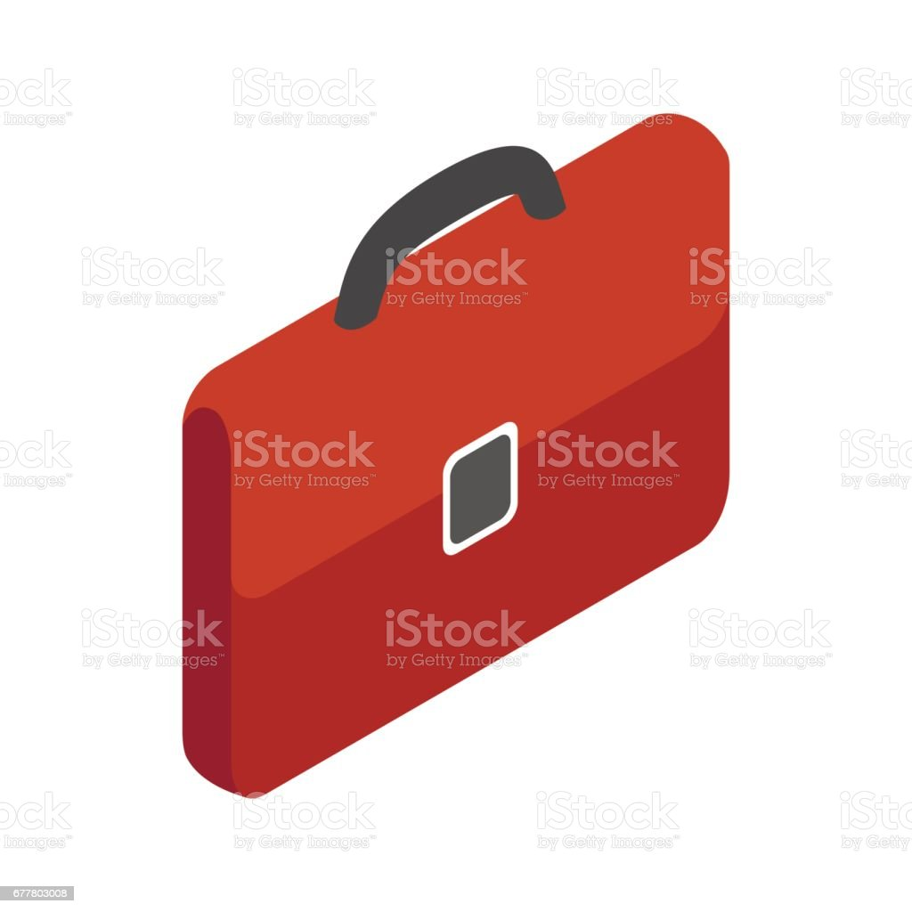 Brown business briefcase icon, isometric 3d style royalty-free brown business briefcase icon isometric 3d style stock vector art & more images of adult