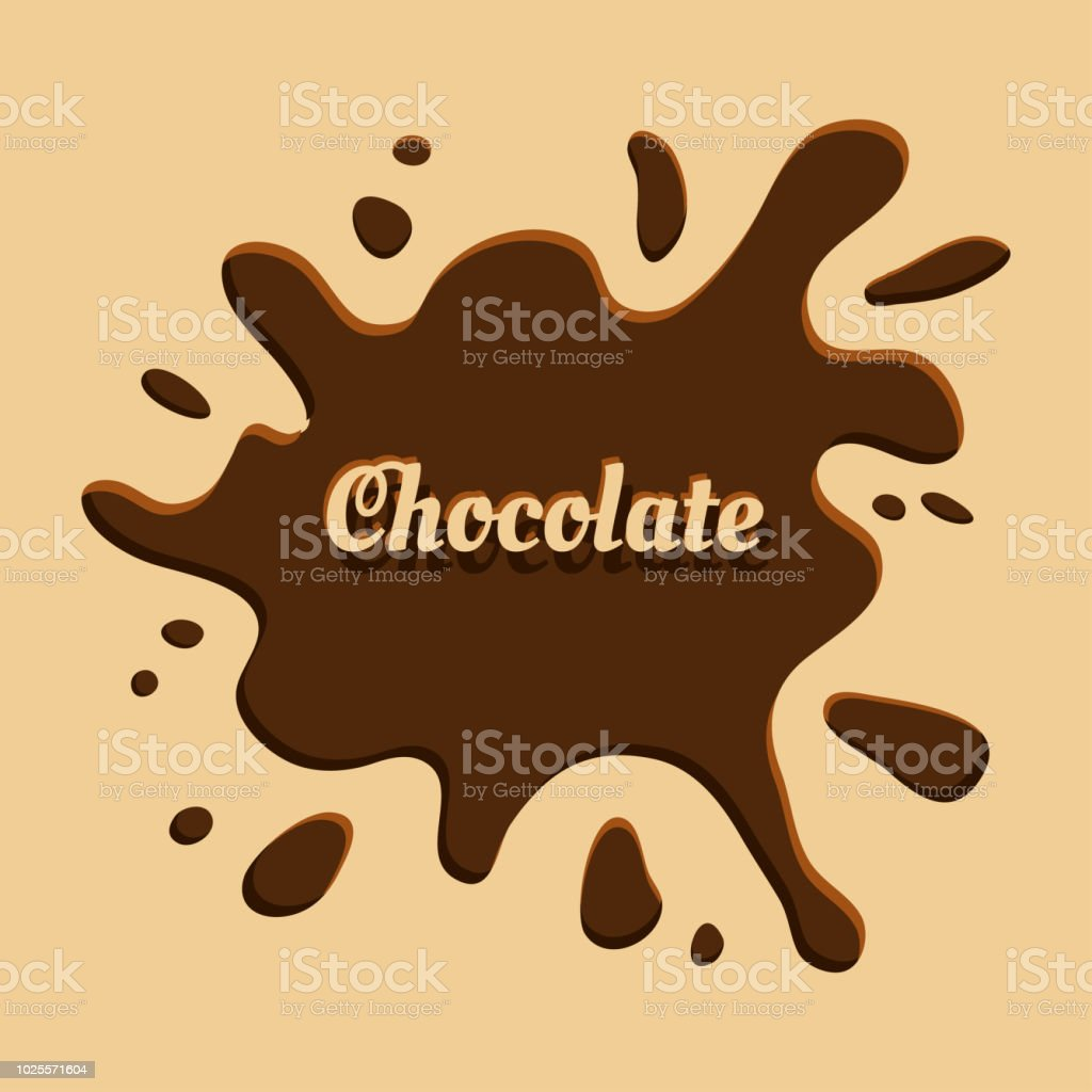 brown chocolate background with splash vector illustration stock illustration download image now istock brown chocolate background with splash vector illustration stock illustration download image now istock