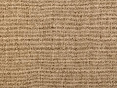 Brown flax linen canvas texture background