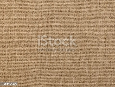Vector illustration of natural rustic grey brown flax linen fabric textile sackcloth bagging canvas