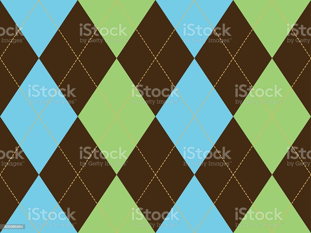 Brown green argyle seamless pattern brown green argyle seamless pattern - arte vetorial de stock e mais imagens de abstrato royalty-free