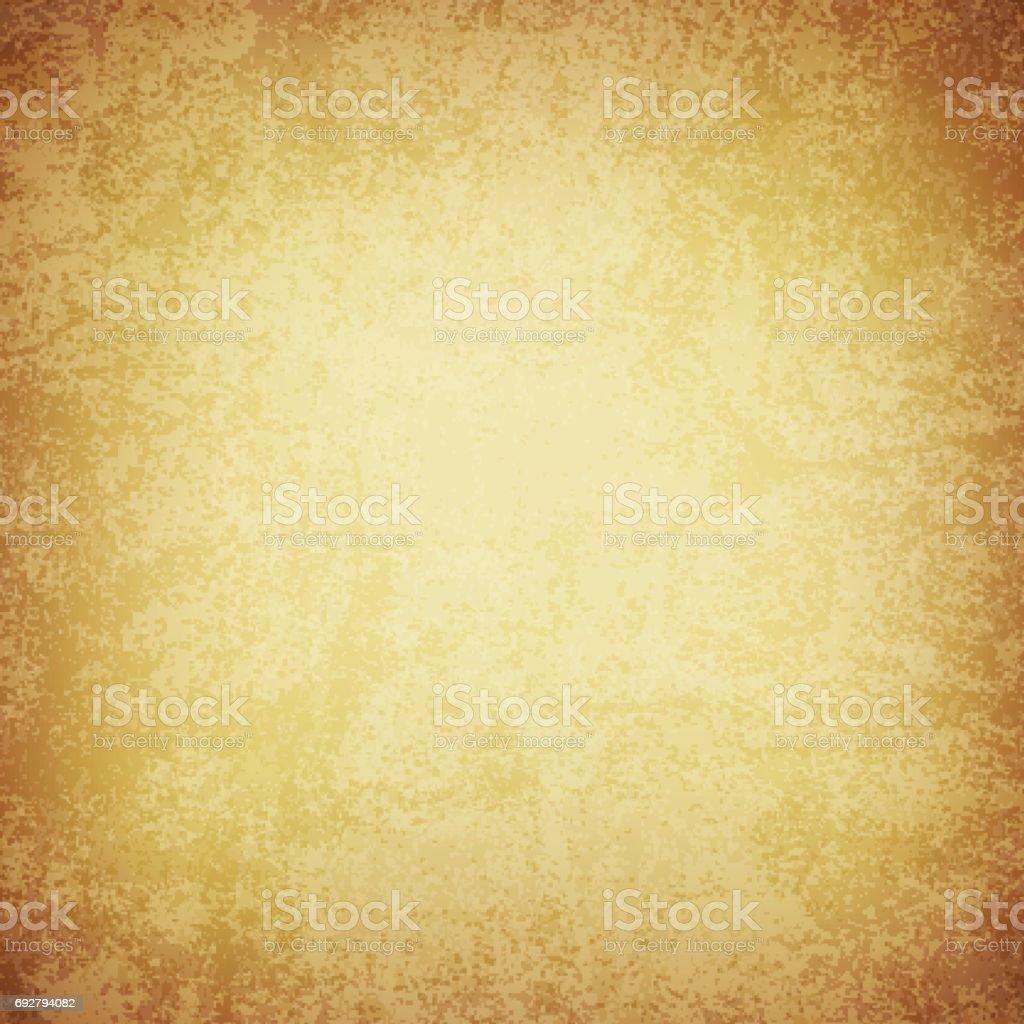 Brown grunge textured background vector art illustration