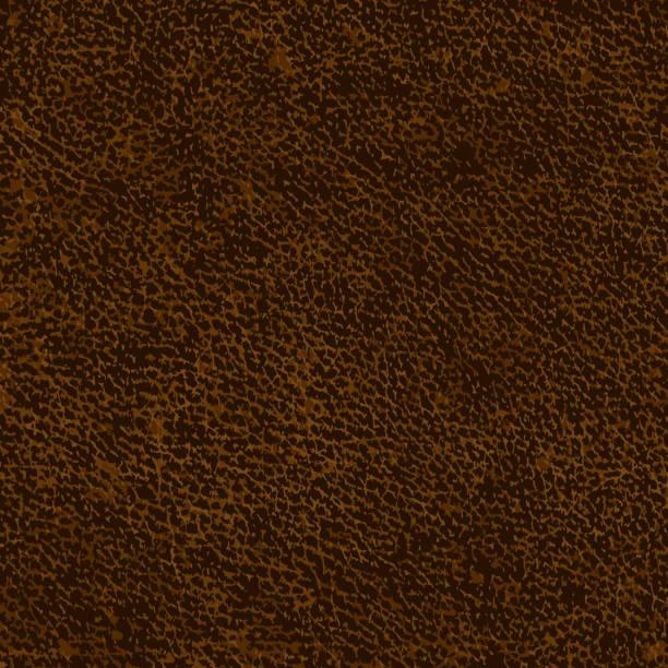 ilustraciones, imágenes clip art, dibujos animados e iconos de stock de de cuero marrón - textura de pieles