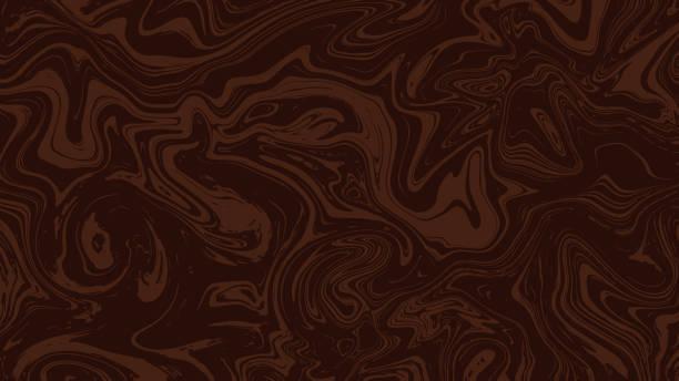 브라운 대리석 질감 배경 - 초콜릿 stock illustrations