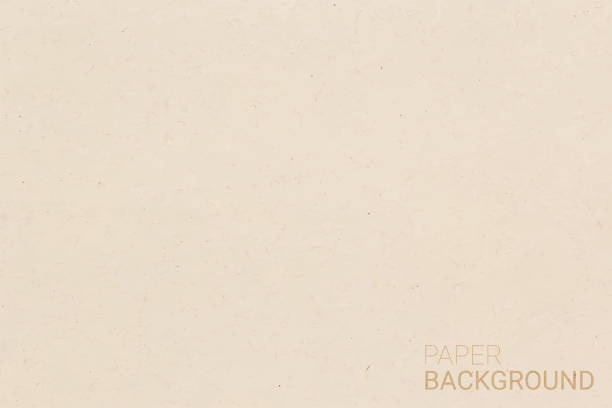 brown paper texture background. vector illustration eps 10. - paper texture stock illustrations