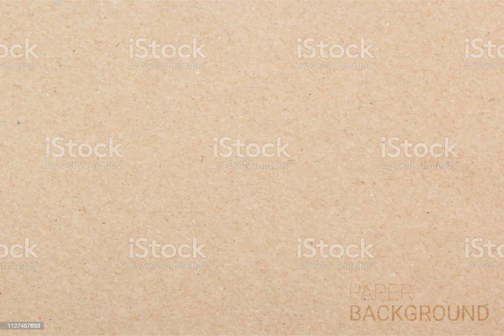 Brown paper texture background. Vector illustration eps 10 - arte vettoriale royalty-free di Arti e mestieri