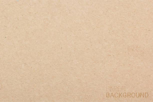 brązowe tło tekstury papieru. ilustracja wektorowa eps 10 - karton tworzywo stock illustrations