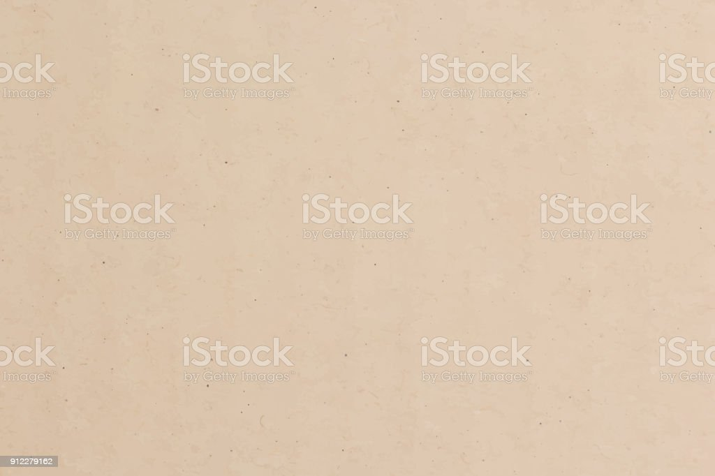 Brown paper texture background, vector vector art illustration
