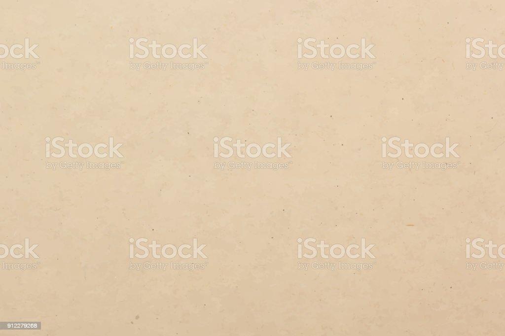 Brown paper texture background, vector