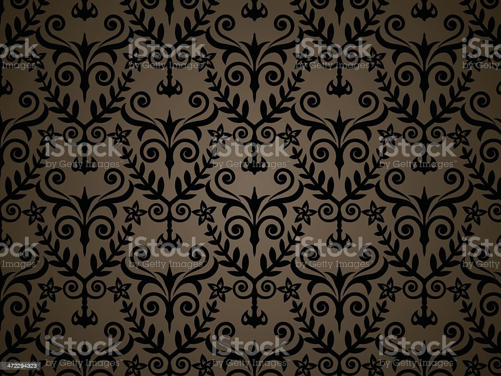 Brown Pattern - VECTOR royalty-free stock vector art