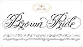 Brown Pride tattoo lettering